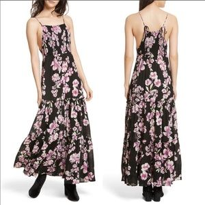 Free People Garden Party Maxi Dress (Onyx)